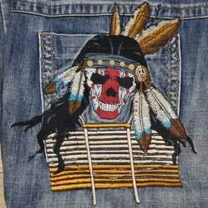 Miskeen embroidered jeans